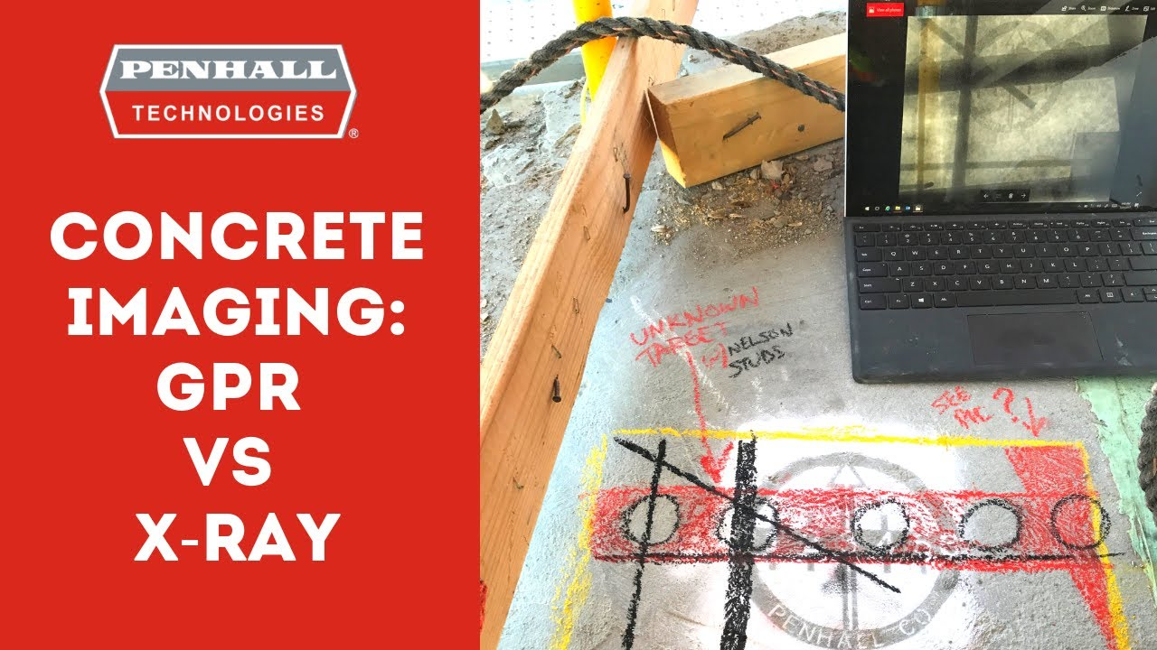 Concrete X-ray Service | Fast, Accurate Concrete Scans| Penhall