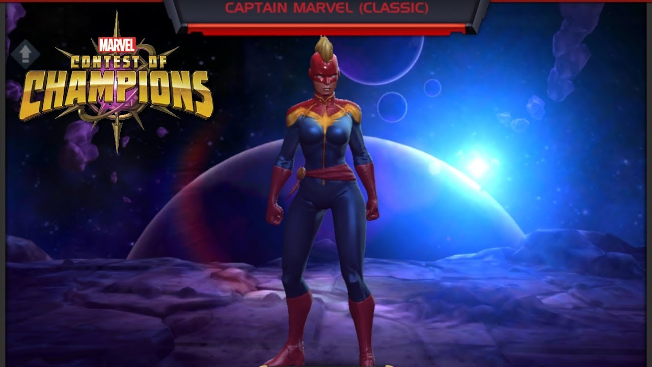 marvel contest of champions   champion wiki   captain marvel (classic)