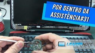 Acer Aspire VX15 VX5-591G - Dobradiça quebrada - Por dentro da Assistência #31