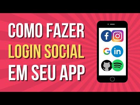 Login Social Facebook e Google (TUTORIAL NO CODE)