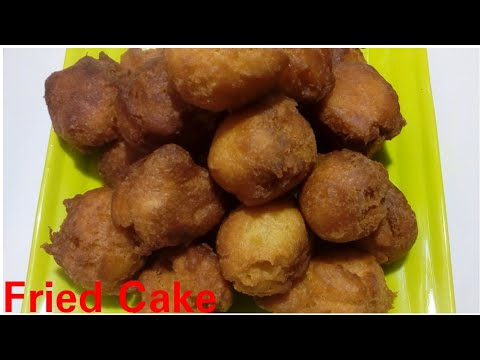 Fried Cake Balls recipe by Kitchen with Rehana