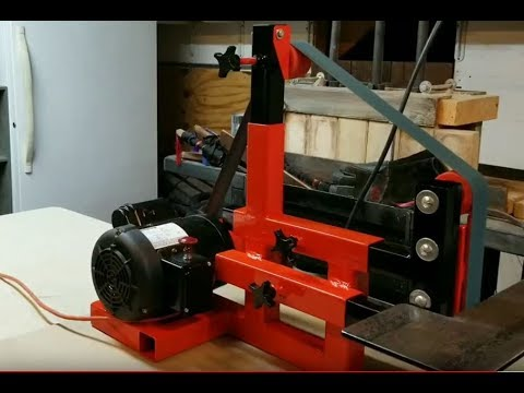 2 Quot X 72 Quot Belt Sander Made From A Weight Bench Pt 2