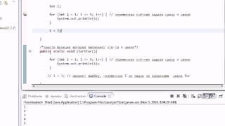 IFF   Урок 3    Java программирование с нуля цикл for  функции
