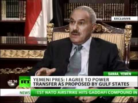 Yemen President Talks About Protest in Exclusive Interview