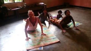 Music Yoga w Orphans in India & Mother Teacher Rebecca Marie Bachar