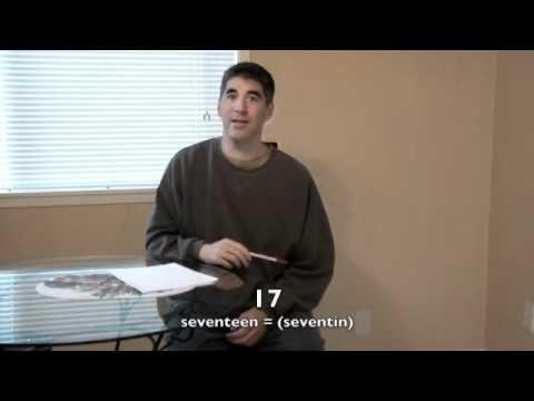 Aprender inglés gratis 33: Como pronunciar los números mas confundidos