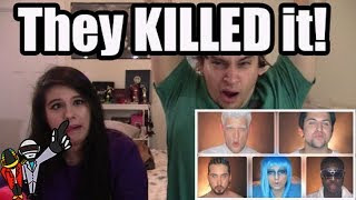 official video daft punk pentatonix couples reaction