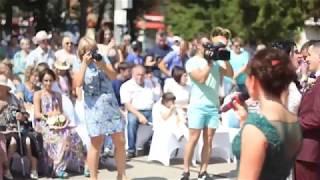 Танец влюбленных на день города Узловая 4 августа 2018 года