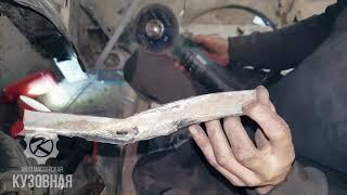 Замена порогов и ремонт арок Nissan Cefiro