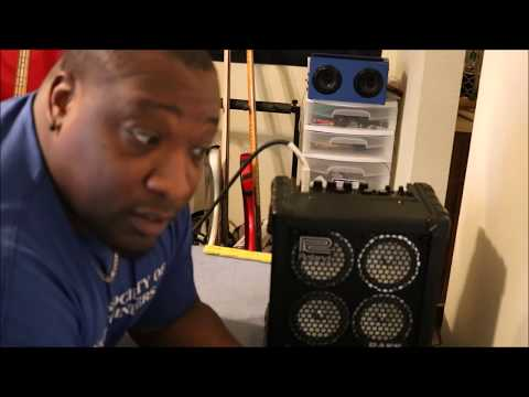 Roland Microcube Bass RX review and demo