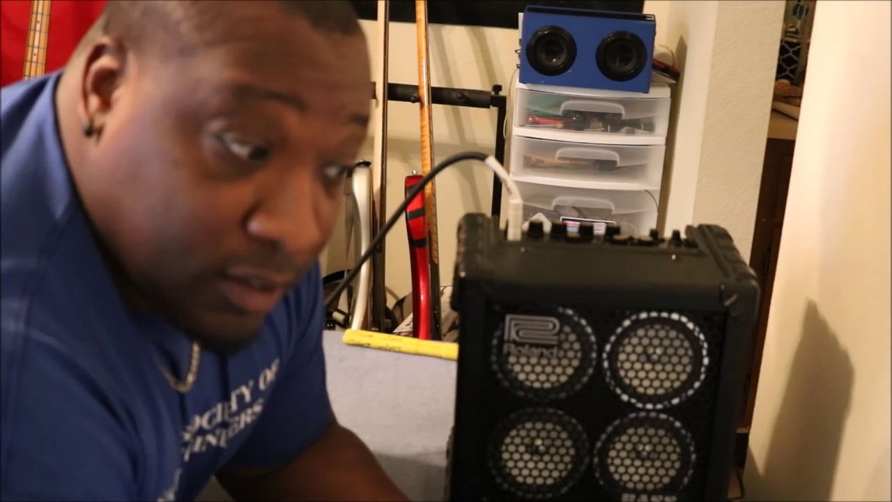 latest best loved ever popular Roland Microcube Bass RX review and demo