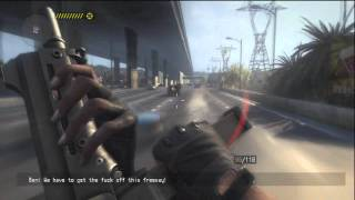 Call of Juarez: The Cartel Gameplay - Highway Car Chase