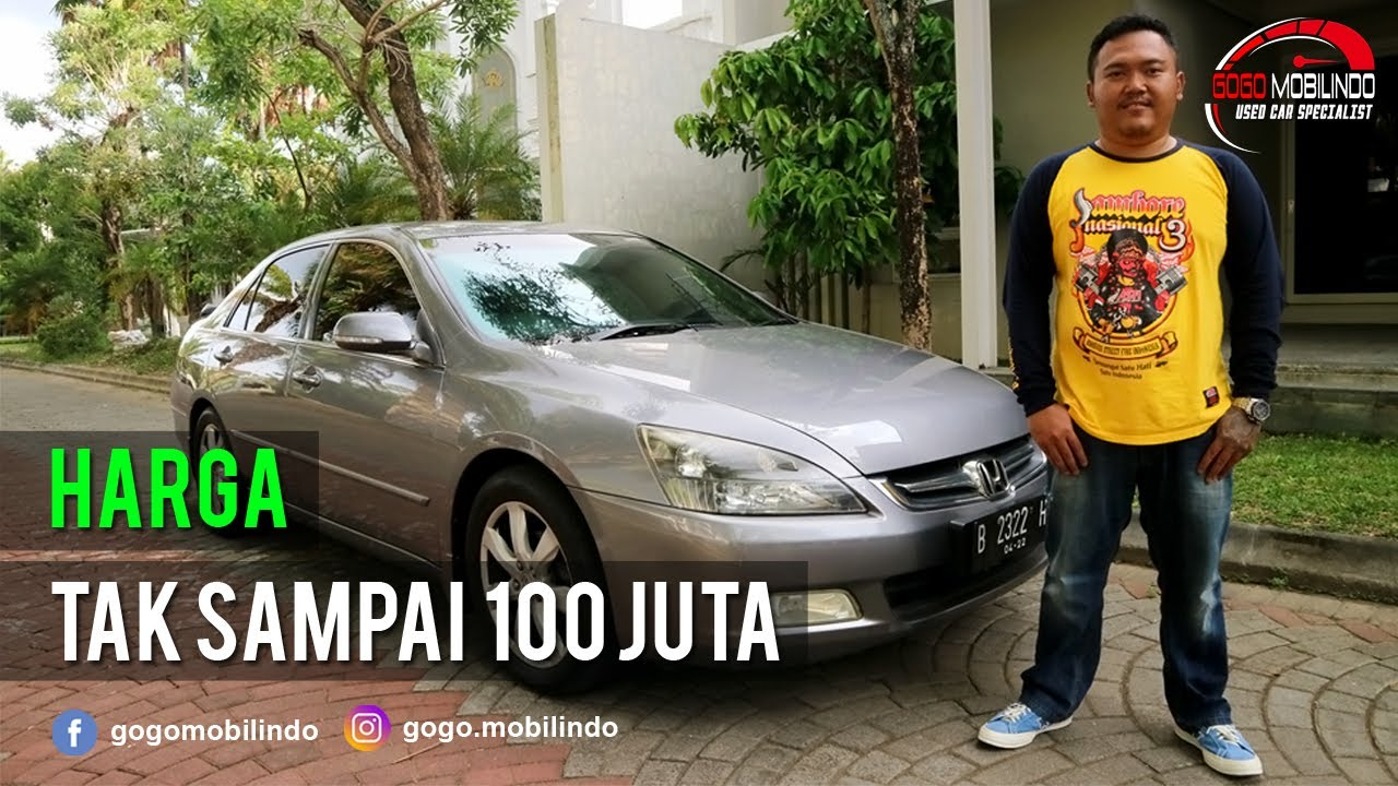 Honda Accord Vtil Matic 2007 Facelift Km Rendah Jual Beli Mobil Bekas Youtube
