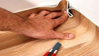 видео Укладка линолеума своими руками