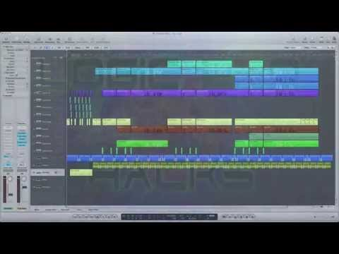 Logic Pro Tutorial how to Design & Make Ambient Music - Amazing Pads