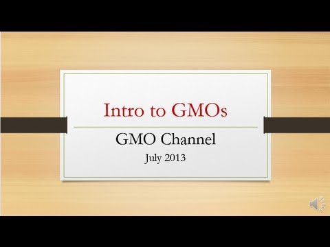 Introduction to GMOs