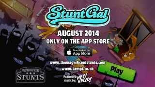 Stunt Gal iOS - HD Game Trailer