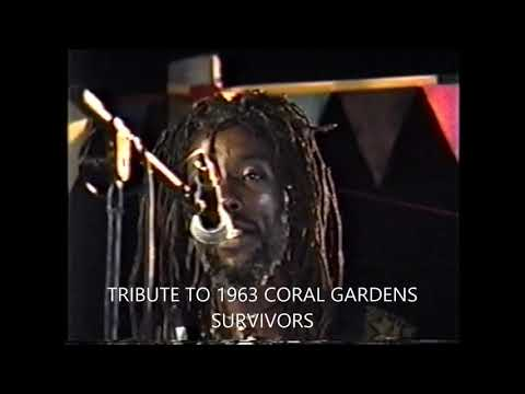THE NYAHBINGHI KETTEH KING BOOM DONOVAN IN JAMAICA CORAL GARDEN POLICE BRUTALITY IN JAMAICA CORAL GA