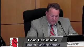 School Board Meeting - June 7, 2018
