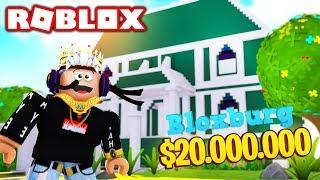 $1,000,000 BIGGEST BLOXBURG MANSION UPDATE TOUR! Roblox Bloxburg
