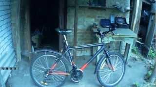 Покраска велосипеда. Paint a bike(Нашел в своем архиве видео о покраске велосипеда. Вот с монтировал и выложил. Использовал автомобильный..., 2013-02-22T10:01:35.000Z)