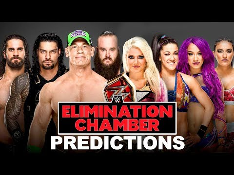 Who Wins At WWE ELIMINATION CHAMBER 2018? Going in Raw Pro Wrestling Predictions Podcast