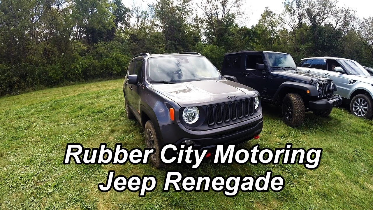 2017 jeep renegade trailhawk quick test off road review youtube. Black Bedroom Furniture Sets. Home Design Ideas