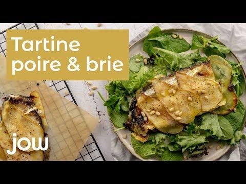 recette-tartine-poire-&-brie