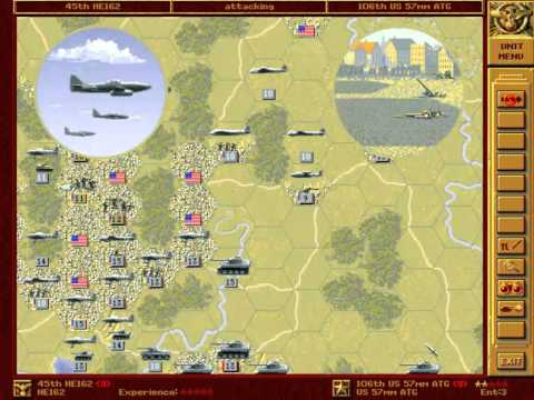 Let's Play - Let's Play - Panzer General - Part 063 - Washington (alternative) - 005 - by MrKritik77