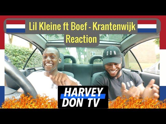 Lil Kleine - Krantenwijk ft. Boef (prod. Jack $hirak) Reaction