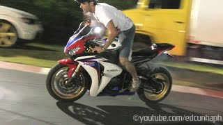Motozona 2015 Parte 3 - Superbikes Show Off, Burnouts & Revs! Bikers BR