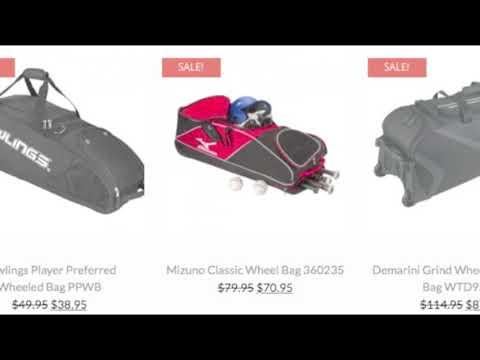 Baseball Bags   Baseball Bargains