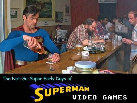 The Not-So-Super Early Days of Superman Video Games