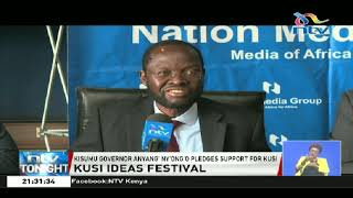 Kisumu governor pledges support for NMG's Kusi Ideas Festival