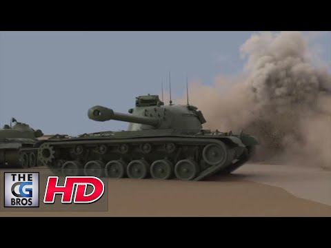 "CGI & VFX Breakdowns : ""World of Tanks: Rubicon X"" - by RealtimeUK"