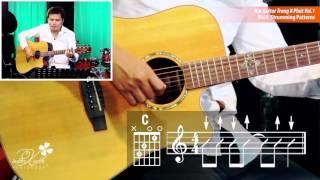 Học Guitar Trong 8 Phút Vol.1- Bài 8: Strumming Patterns