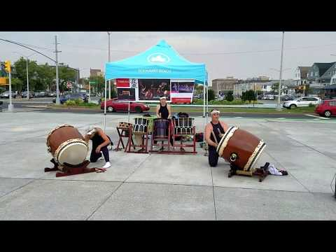 Taikoza-Japanese Drums in Rockaway Beach, NY part# 3