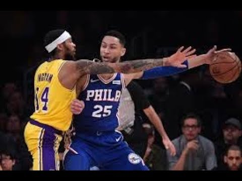 Los Angeles Lakers vs Philadelphia 76ers NBA Full Highlights (30th January 2019)