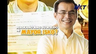 Magkano ang suweldo ni Mayor Isko? | NXT