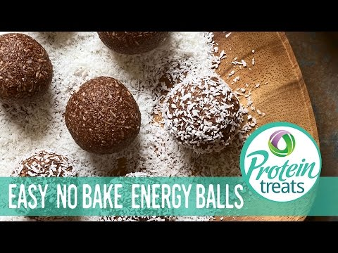 No Bake Chocolate Protein Balls – Protein Treats by Nutracelle