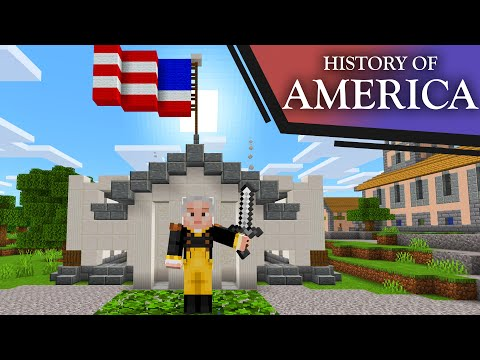 American History Portrayed By Minecraft