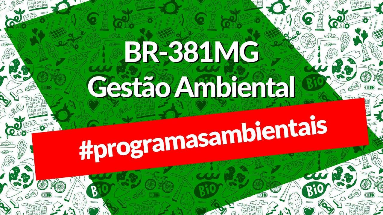Conheça o Programa de Monitoramento dos Recursos Hídricos, realizado na BR-381/MG