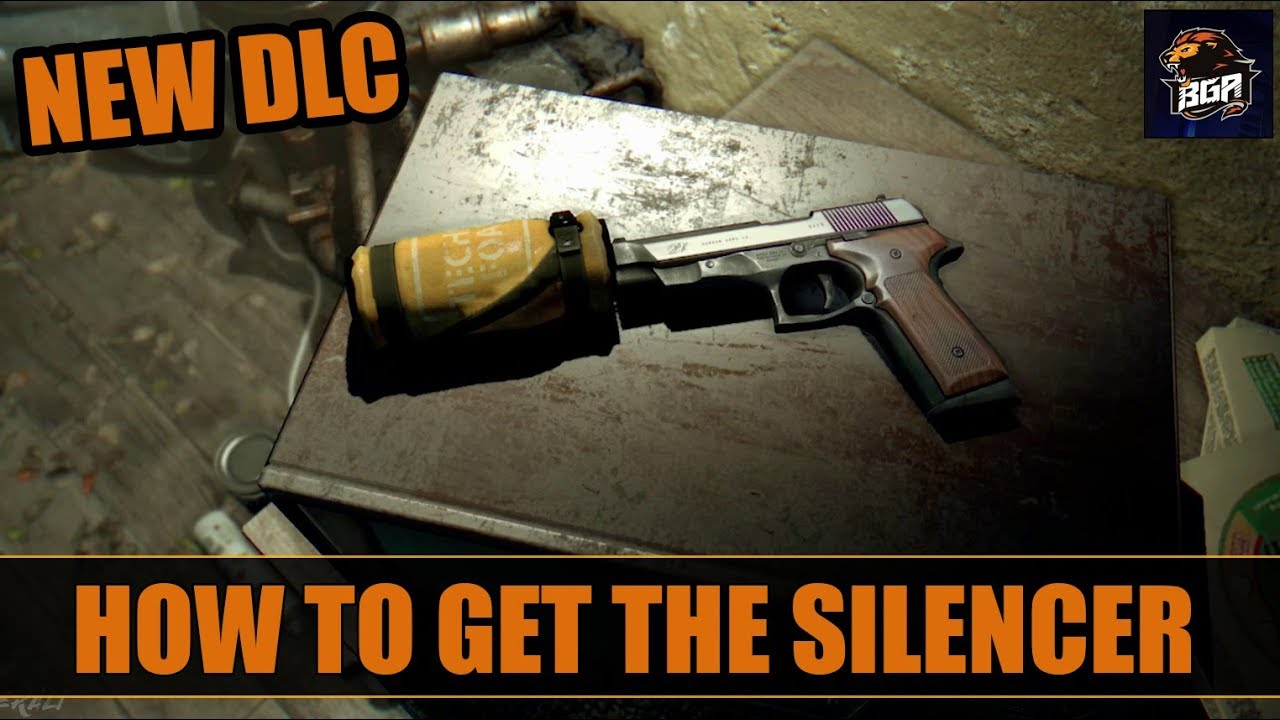 how to get silencer for the pistols dying light content drop 2