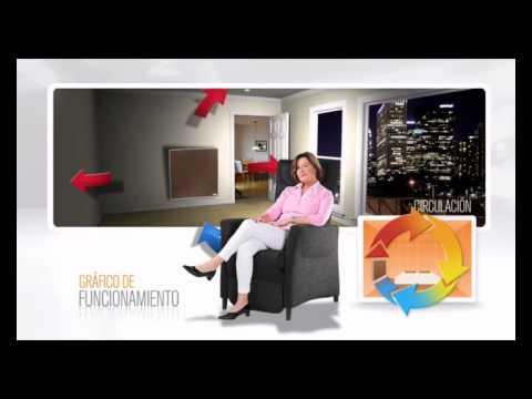 Panel calefactor de bajo consumo funnydog tv - Calefaccion electrica consumo ...