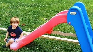 """Babies Playing on Slides Compilation"" 