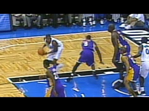 T-Mac Fakes Out Kobe, Bryant Responds With Sick Dunk! 11.27.02