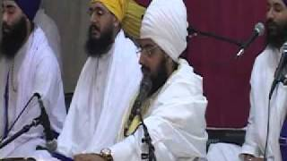 Sant Baba Ranjit Singh Ji Dhadrian Wale Oct 6, 2010 - PART 1