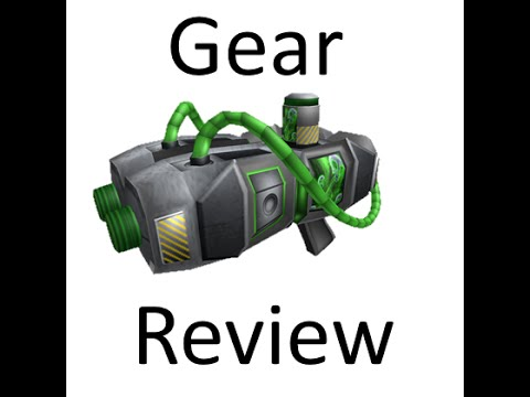 how to use gear in roblox