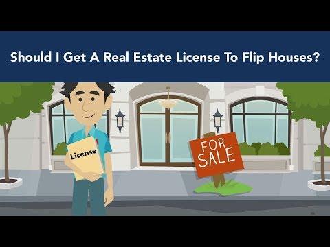 Should I Get A Real Estate License To Flip Houses - Benefits Of A Real Estate License