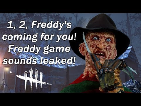 Dead By Daylight 1, 2 Freddy Krueger's coming for you! Plus Kate Denson?